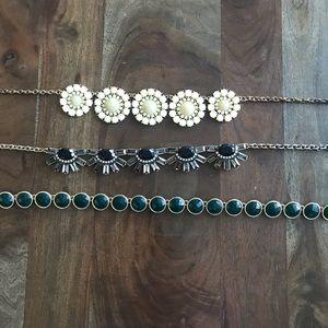 Large flower bauble necklace